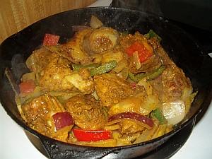 Einfaches Chicken Curry