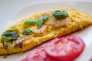 Omelette mit frischen Kraeutern