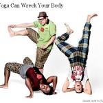Yoga: Verletzungsgefahr bei unsachgemäßer Ausführung!