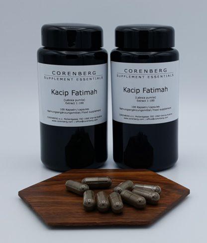 Doppelpack Kacip Fatimah Kapseln Energie für Frauen