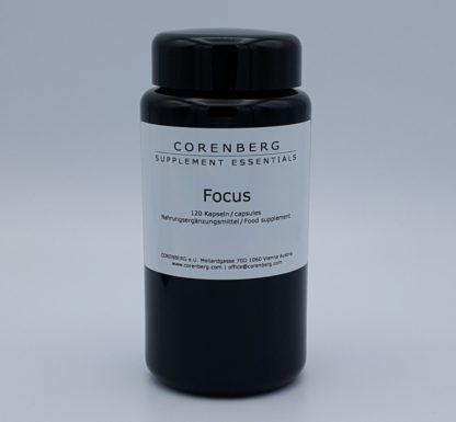 CORENBERG® Focus Capsules for memory and focus