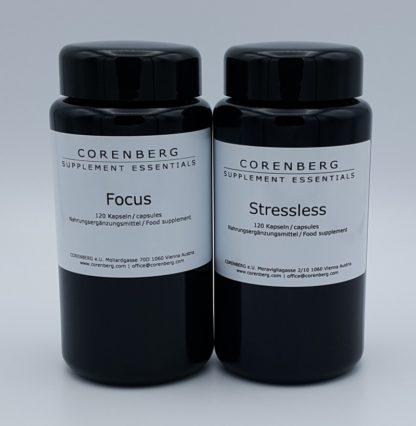 Set aus Focus und Stressless Kapseln