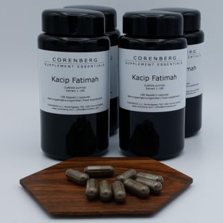 Viererpack Kacip Fatimah Kapseln Energie für Frauen