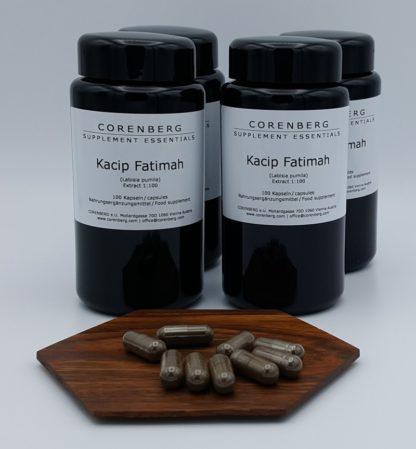 Four-pack CORENBERG® Kacip Fatimah capsules